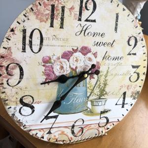 Horloge printemps
