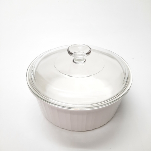 Plat Corningware rond