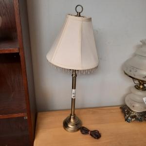 Lampe de chevet dorée